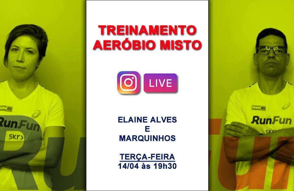 Live RunFun AerÍbio Misto com Elaine e Marquinhos 14/04/2020