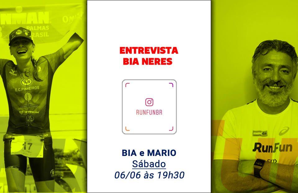 Live RunFun Entrevista Bia Neres 06-06