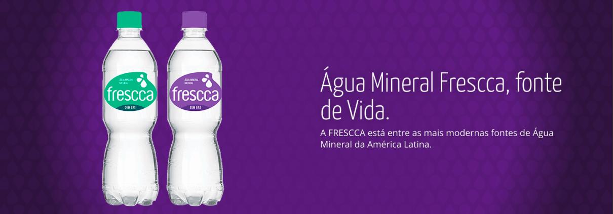 Água Mineral Frescca 2019