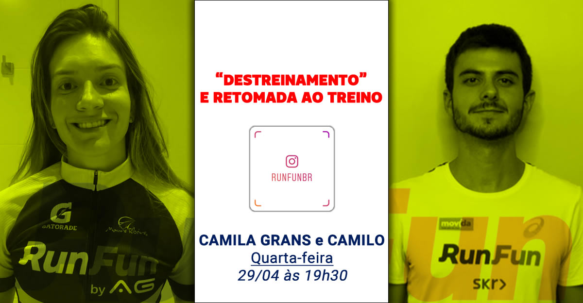 Lives RunFun Destreinamento Retomada - 29-04