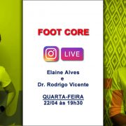 Live RunFun Elaine e Dr. Rodrigo Vicente Foot Core 22-04