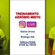 Live RunFun Elaine e Rodrigo Dib Aeróbio Misto 21-04