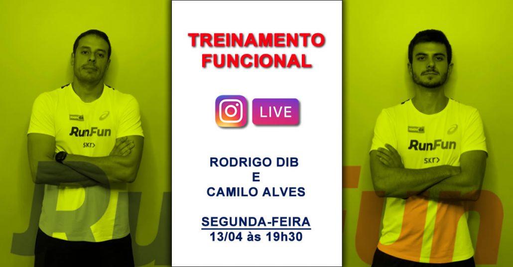 Live RunFun Rodrigo Dib e Camilo - Funcional 13/04/2020