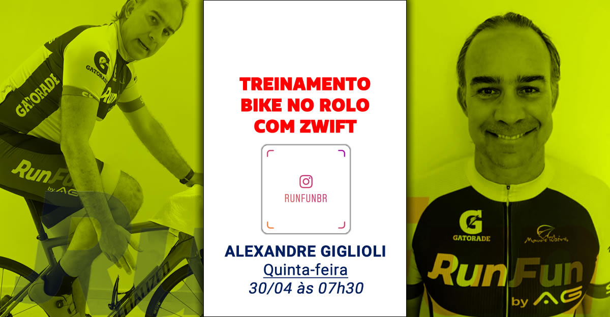 Lives RunFun Treinamento Bike Ale - 30-04