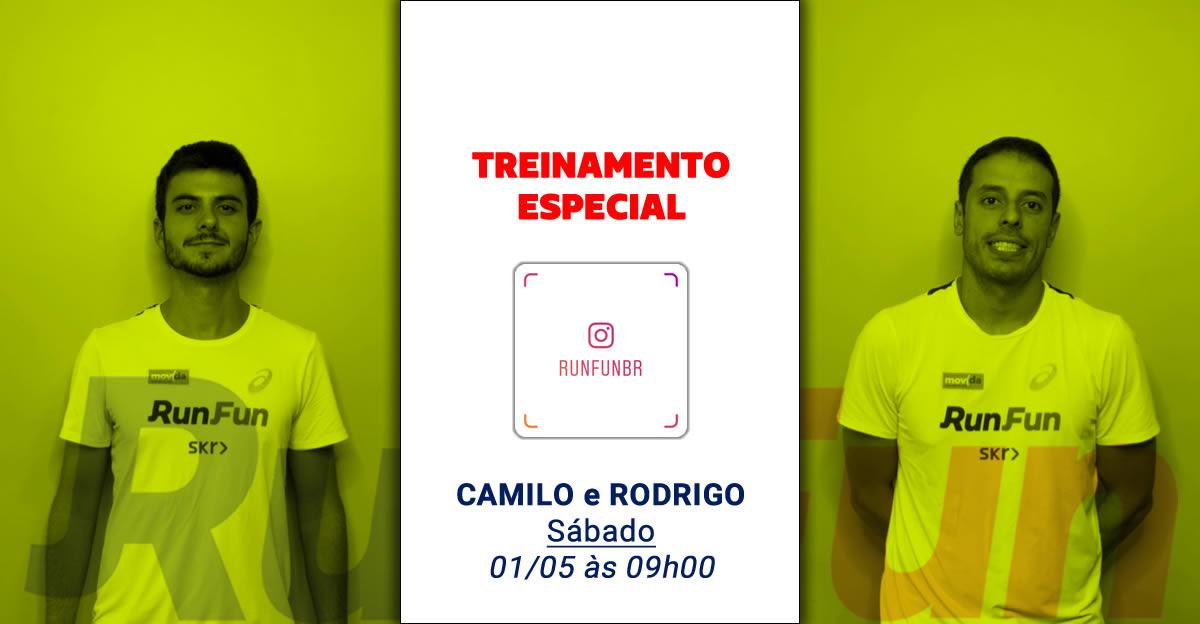 Lives RunFun Treinamento Especial Camilo Rodrigo - 01-05