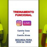 Live RunFun Treinamento Funcional Camila e Camilo 20-04