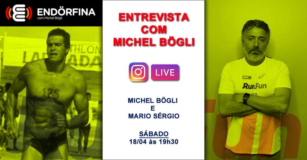 Live RunFun - Entrevista com Michel Bogli e Mario Sergio - 18/04/2020