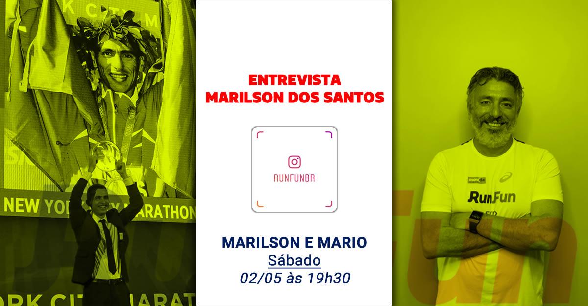 Live RunFun Entrevista Marilson dos Santos 02-05-2020