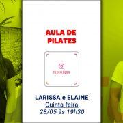 Live RunFun Pilates Elaine Larrissa Reactive - 28-05