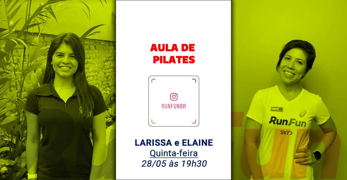 Live RunFun Pilates Elaine Larissa Reactive - 28-05