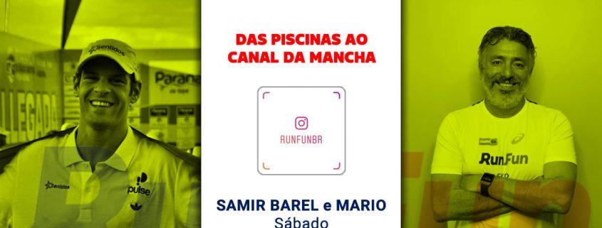 Live RunFun Samir Barel e Mario Sergio 09-05