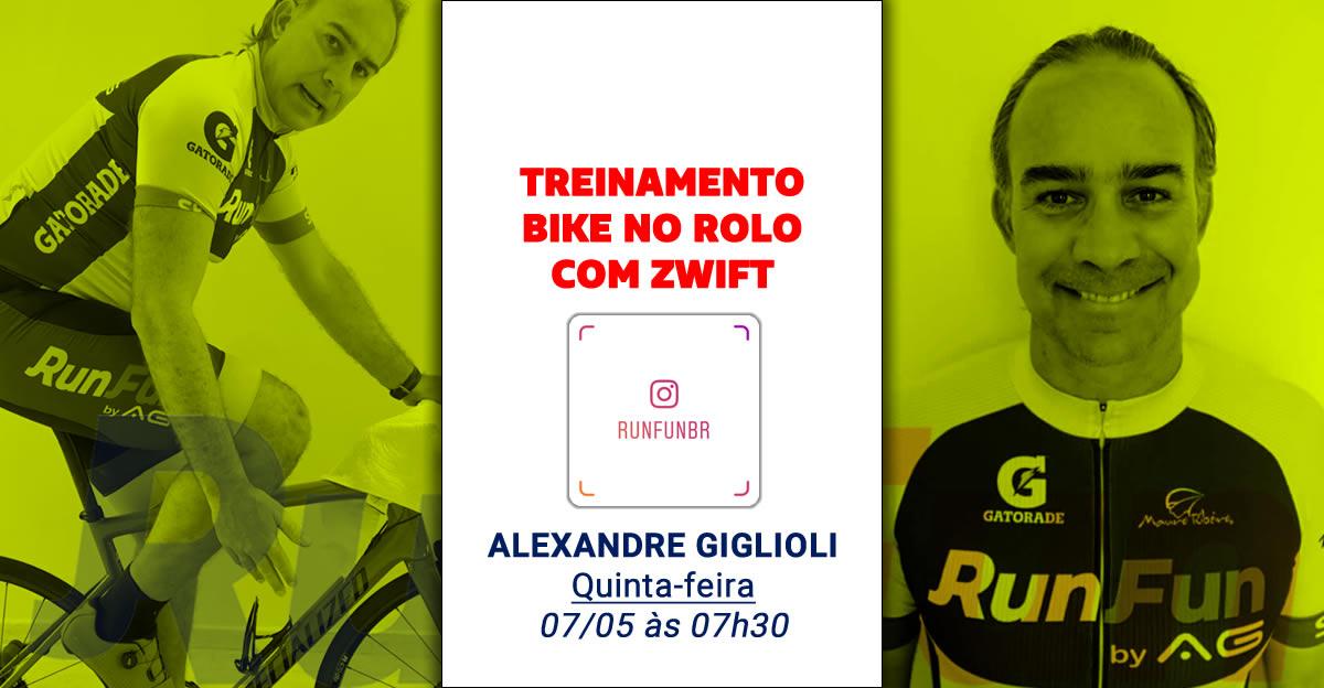 Live RunFun Treinamento Bike Ale 07-05