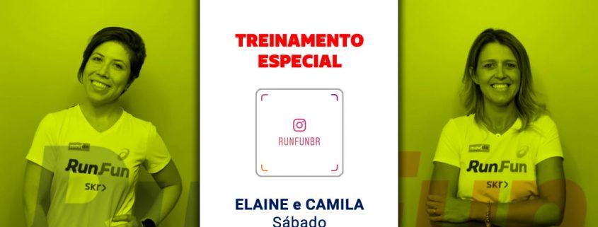 Live RunFun Treinamento Especial Elaine e Camila 09-05